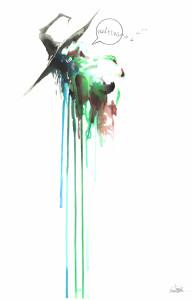 Melting Witch by Lora Zombie via www.DeviantArt.com