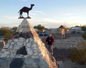 The Hi Jolly Memorial, Quartzite AZ by Randy Cockrell