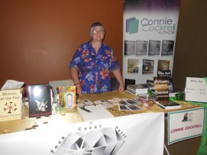 Connie at the Tempe Library Book Festival
