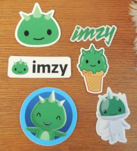 Imzy Stickers